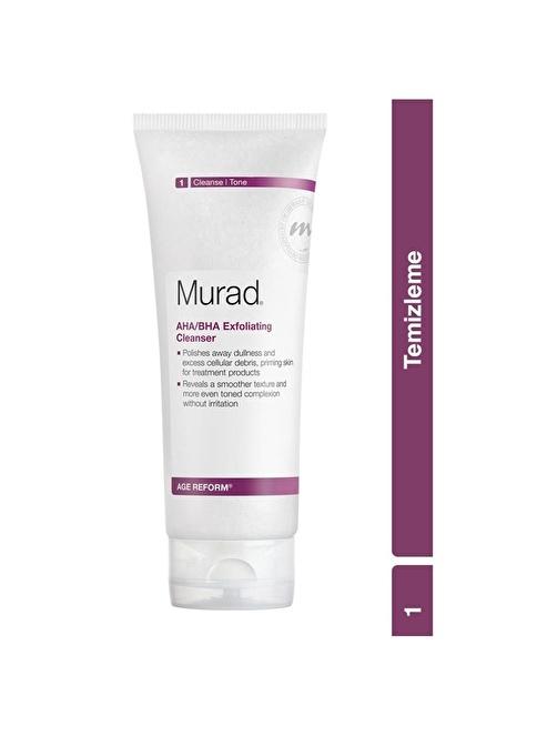 Murad AHA/BHA Exfoliating Cleanser -  Peeling Etkili Temizleme Jeli 200 ml Renksiz